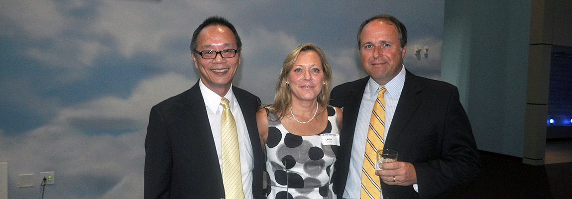 AE chair Vigor Yang with AESAC members Leslie Livesay and John Laughter during a recent AESAC meeting